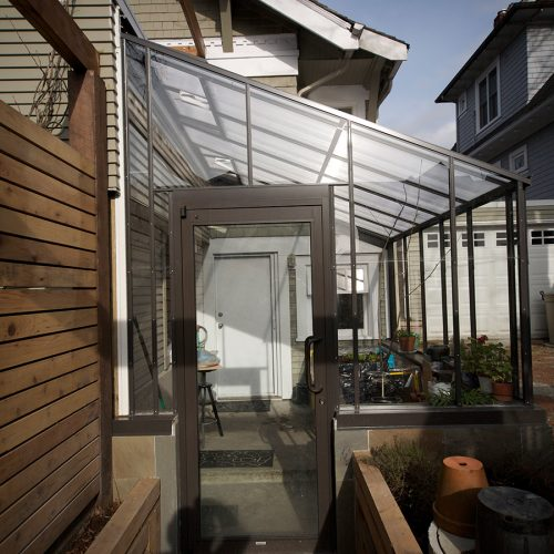 Lean-to Glass Twinwall