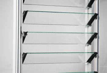 Manual Glass Louvres