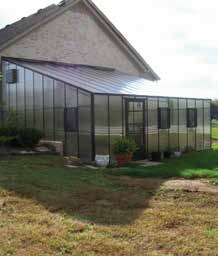 Traditional Home Attached Polycarbonate