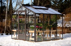 Traditional Legacy Greenhouse - 8' x 8'