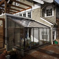 Lean-To Attached Greenhouses