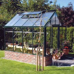 Single Glass Greenhouse Kits