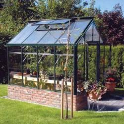 Single Glass Greenhouse Kits