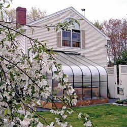Twin Wall Polycarbonate Lean-to Greenhouses